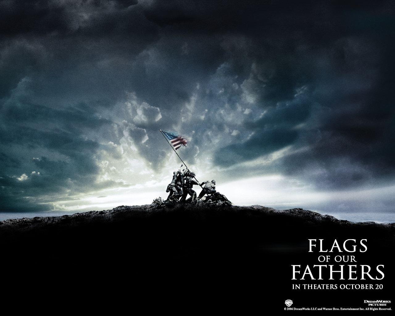 父辈的旗帜壁纸