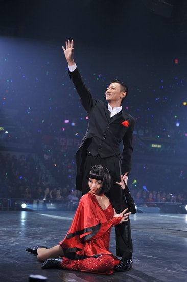 刘德华演唱会正式售票 儿子安逗,黑仔来帮忙图片