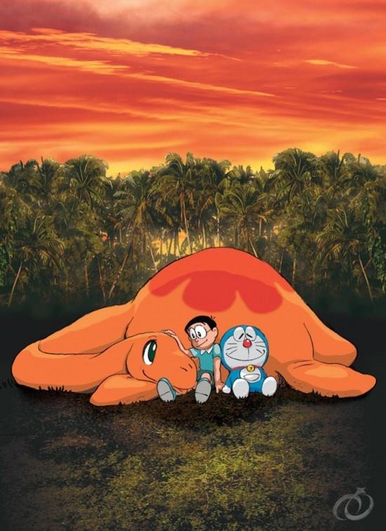 《哆啦a梦06剧场版:大雄的恐龙》剧照