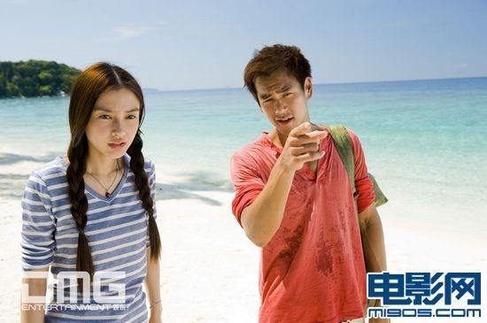小岛的异域风情,碧海蓝天映衬的浪漫爱情故事成就了《夏日乐悠悠》心