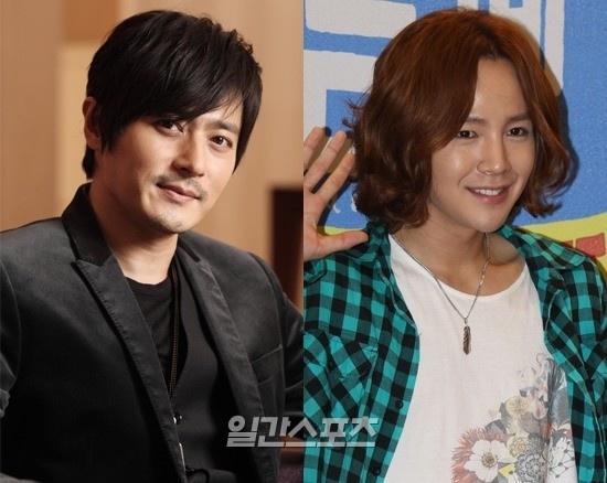 媒体报道,韩国明星张东健和张根硕将在2012年年初面试日本电影院.电影身材伦理进军图片