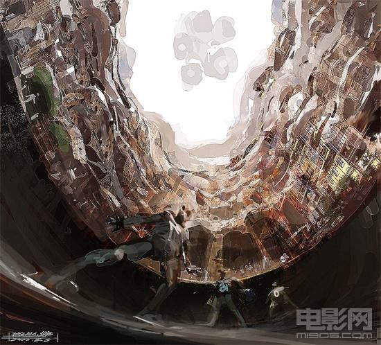 神奇 海量手绘图曝光 五大科幻球场惊艳亮相