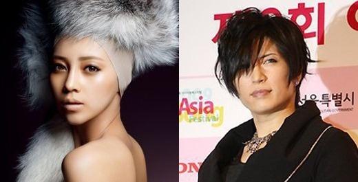 亚由美与日本摇滚王子Gackt交往 从容承认恋情