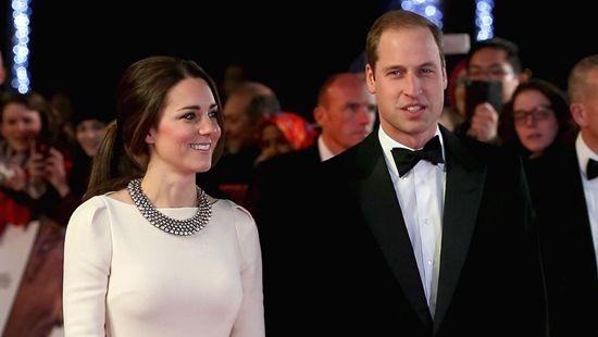 英威廉王子与凯特王妃出席《曼德拉:漫长自由路》的首映式