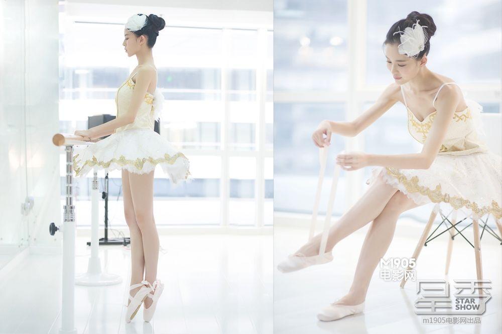 大成舞衣子电影_踢腿劈叉,芭蕾手位在她的演绎下轻松而精准,在镜子前更是犯起\