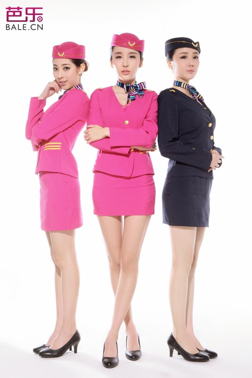 索尼模特空姐服装