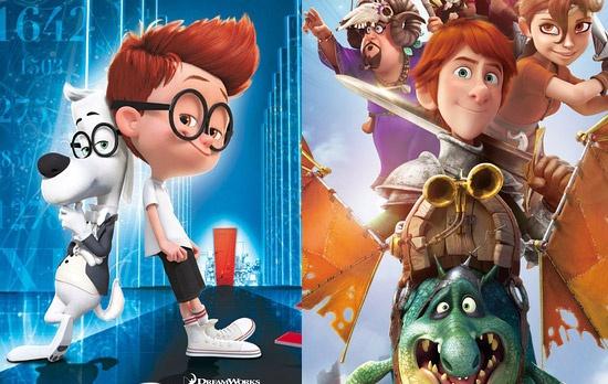 """影片围绕美国家喻户晓的卡通人物""""眼镜狗""""皮博迪先生和小男孩""""舍曼""""两"""