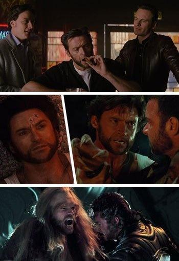 《x战警》:当时埃里克在飞机上看到金刚狼的骨爪时,有感而发说它要是