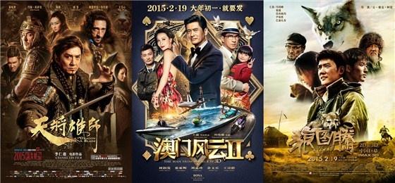 16亿 上映中 6 《钟馗伏魔》 2015 2.