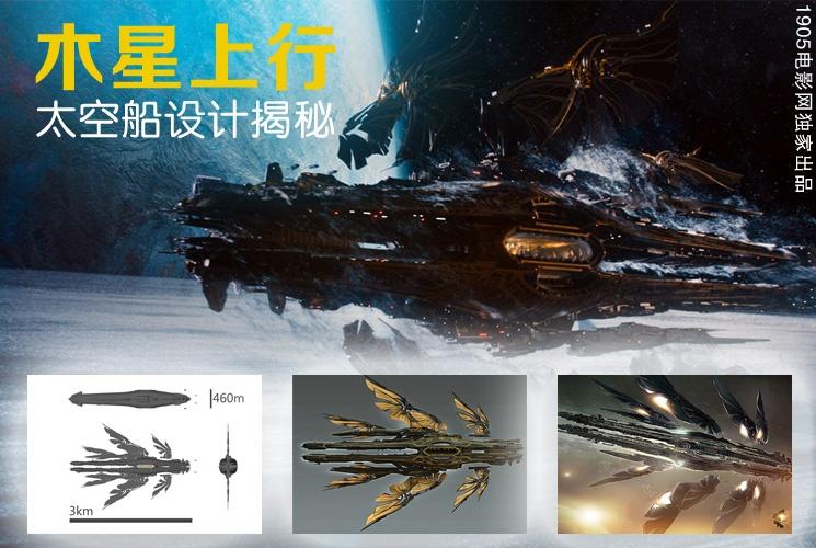 视觉构建新突破:《木星上行》太空船设计揭秘