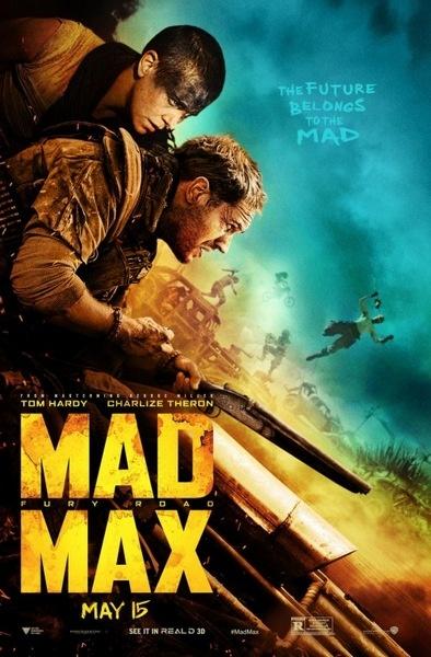《疯狂麦克斯》再发新海报 主要人物持武器飞跃