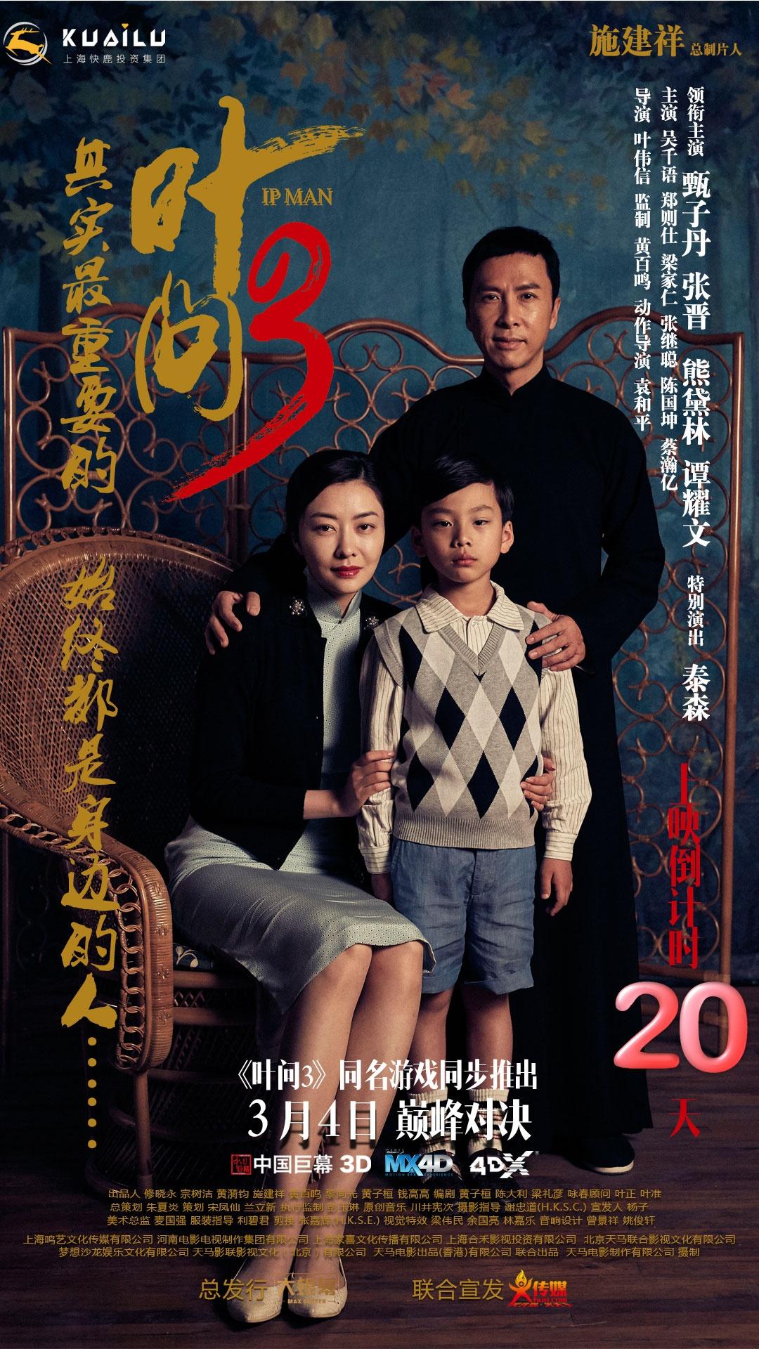 叶问3_电影海报_图集_电影网图片