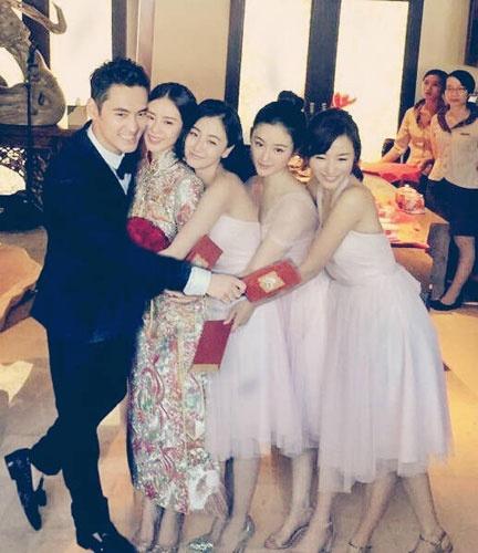 凤凰娱乐讯今天下午,吴奇隆刘诗诗将在巴厘岛举行婚礼.
