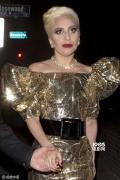 "Gaga30岁生日派对美成""金蝴蝶"" 霉霉深V来捧场"