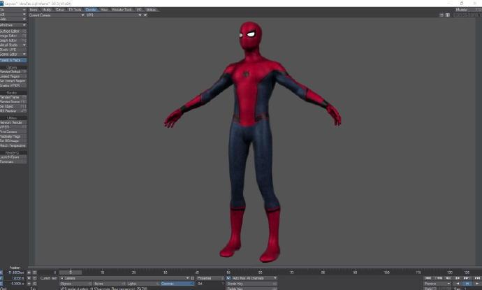 《美队3》蜘蛛侠3d设计图曝光 来围观小蜘蛛