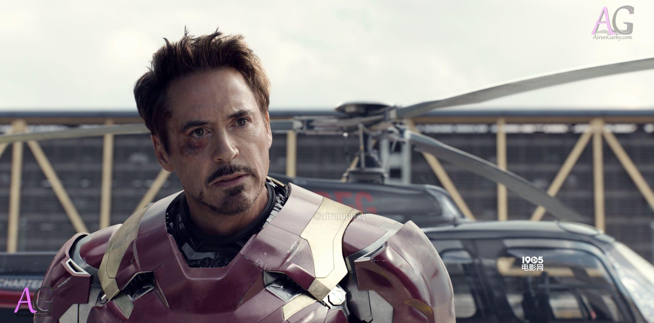 《美国队长3》发布海量剧照 钢铁侠美队深情凝视