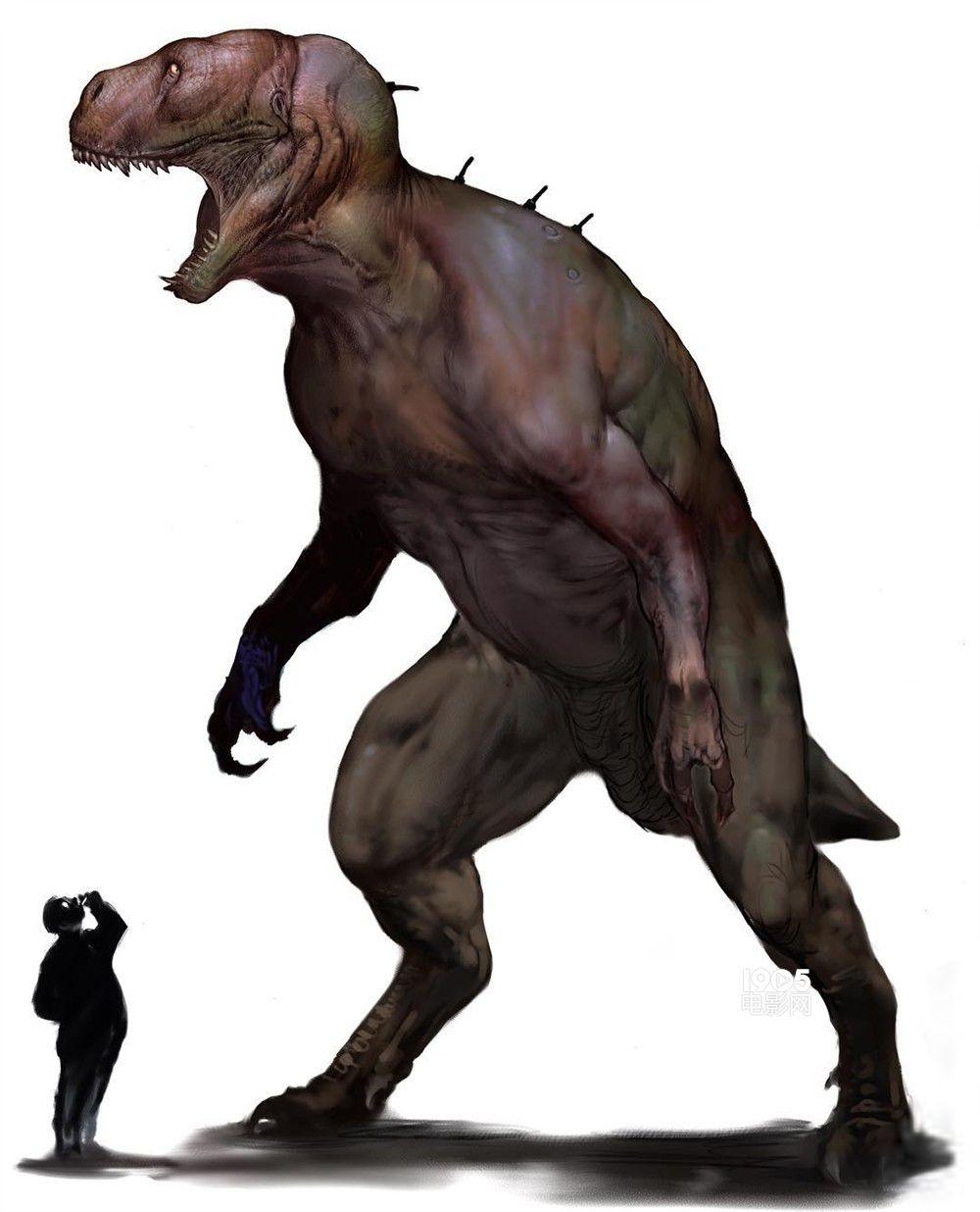 概念图中的怪兽像各种动物的结合体