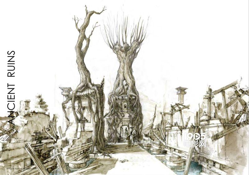 《勇士之门》曝出了一组手绘稿,宝库,地牢,远古废墟尽收眼底,粗细线条