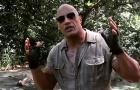 《勇敢者的游戏》片场视频 巨石强森吐槽剧组成员