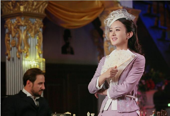 《胭脂》一剧中,赵丽颖扮相多以一身戎装出现,尽显英武睿智.图片