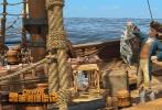 """《鲁滨逊漂流记》片方发布""""针锋相对""""版正片片段,抖森与霉霉一对恶猫夫妻与鲁滨逊在航海中大打出手,为日后的荒岛危机埋下伏笔。"""