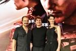 阿汤哥《侠探杰克2》上海首映人气高 蔻碧秀肌肉