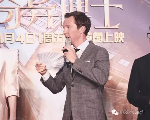"""""""奇异博士""""卷福又来上海啦!可为啥他总说想回家?"""