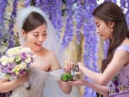 张靓颖大婚王珞丹担任伴娘 刘亦菲为新娘捧婚戒