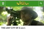 """今年美国电影交易市场(简称AFM)吹冷风,影片数量比去年减少25%,参加人员也減少接近10%。即便在影片数量减少的情况下,中国买家却是今年市场的亮点,一支独秀,拥有最強购买力,直接投资电影项目,大制作和好质量的影片更是高价成交。""""迷失Z城""""在市场展映后被世界各国买家一致赞扬,成为最抢手的电影之一,具国外权威评分网站""""烂番茄""""评价新鲜度达86%,98%的人表示期待想看,美国电影网评分更是高达8.3分,毋庸置疑成为国内外期望值最高影片。"""