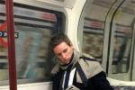虽然不知道神奇动物在哪里 但小雀斑在伦敦地铁上