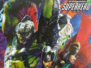 《雷神3》曝艺术概念海报 角斗士绿巨人怒吼登场