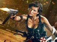《生化危机6》新海报 乔沃维奇爆乳骑摩托开枪