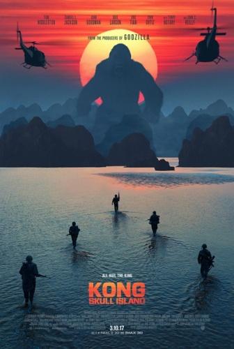 《金刚:骷髅岛》新海报