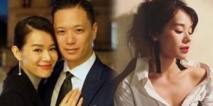 """37岁胡杏儿疑已经怀孕 出席活动""""人墙""""护肚"""
