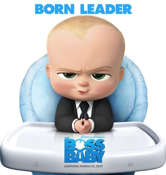梦工场动画2017年的强档新作《the boss baby》(《宝贝老板》暂译名)