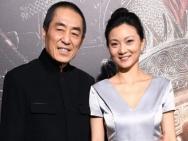 《长城》北美首映张艺谋携妻亮相 呆萌帅气迷人