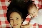 张梓琳与女儿比美 网友:女孩长大不得了