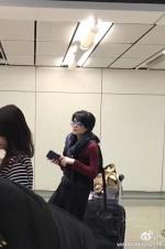 甜蜜热恋!王菲谢霆锋香港撒狗粮 机场亲亲两次