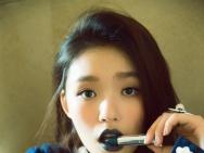 林允最新写真曝光 深绿唇色抢镜 青春活力满分