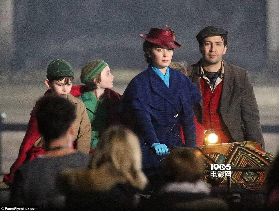 《欢乐满人间2》曝片场照 布朗特重现魔法保姆