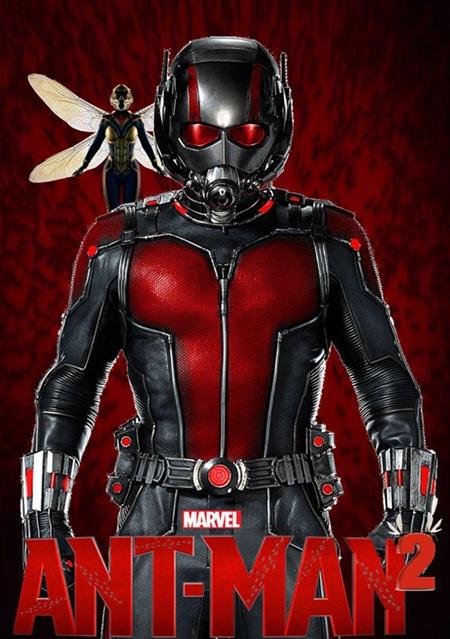 《蚁人与黄蜂女》6月开机 夫妻档超级英雄来袭