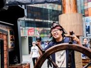 《加勒比海盗5》电影主题展 寻宝三里屯太古里