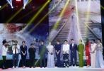 """即将于2018年大年初一上映的电影《西游记女儿国》与上海电影节期间举行时尚之夜活动。当晚,女主角、""""女儿国国王""""赵丽颖携冯绍峰、小沈阳、梁咏琪、罗仲谦等主演登台亮相。"""