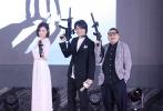 """6月18日,""""珠影之夜""""暨2017新片发布会在上海举行。此次珠影集团对外发布的片单横跨2017年至2018年,包括袁和平执导的枪战动作戏《老家伙们》,黄子华、佘诗曼联袂出演的爆笑动作喜剧《栋笃特工》,汪海林、刘毅编剧的公安题材《头号追缉》,反恐军旅题材片《中国兵王·猎鹰特战队》等。"""