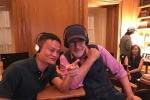 马云探班斯皮尔伯格 决定放弃当电影导演的想法