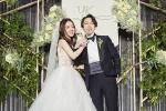 林宥嘉婚宴:新郎新娘甜蜜互动 发表爱的宣言