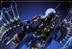 """近日,《乐高幻影忍者大电影》曝光了一组新海报,成龙献声的""""吴大师""""等角色悉数登场,""""吴大师""""身后的战船挂着富有东方元素的红灯笼,红色龙纹的图案更呈现了古典质感。各个人物身后的巨型机器人总不免让人联想到《变形金刚》系列中的汽车人,不知该片是否有恶搞之意。"""