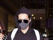 陈学冬全黑造型现身首都机场 被粉丝喊话穿秋裤