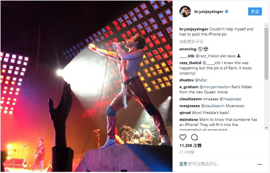 《波希米亚狂想曲》曝剧照 马雷克神还原皇后乐队_好莱坞