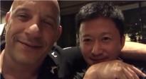 范·迪塞尔、吴京同框喝酒  是要合作《战狼3》?